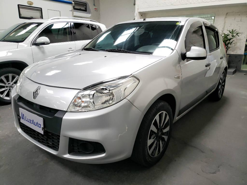 Foto numero 2 do veiculo Renault Sandero Expression 1.0 16V - Prata - 2011/2012