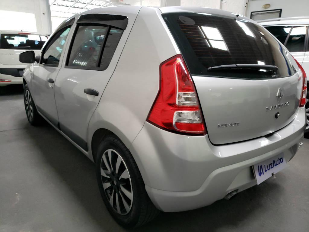 Foto numero 3 do veiculo Renault Sandero Expression 1.0 16V - Prata - 2011/2012