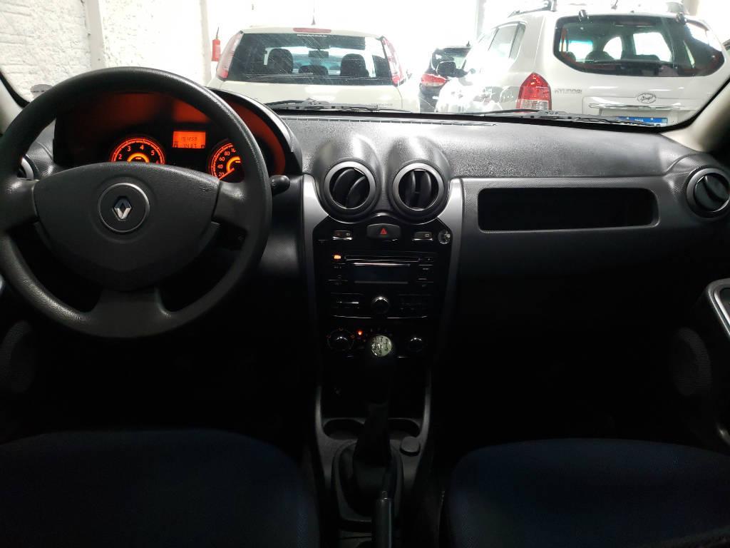 Foto numero 10 do veiculo Renault Sandero Expression 1.0 16V - Prata - 2011/2012
